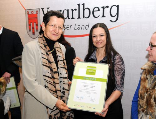 """2011 Staatspreisverleihung """"Freundlichstes Unternehmen"""""""