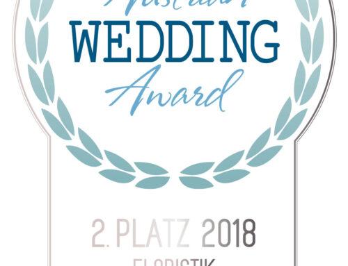 2018 Austrian Wedding Award